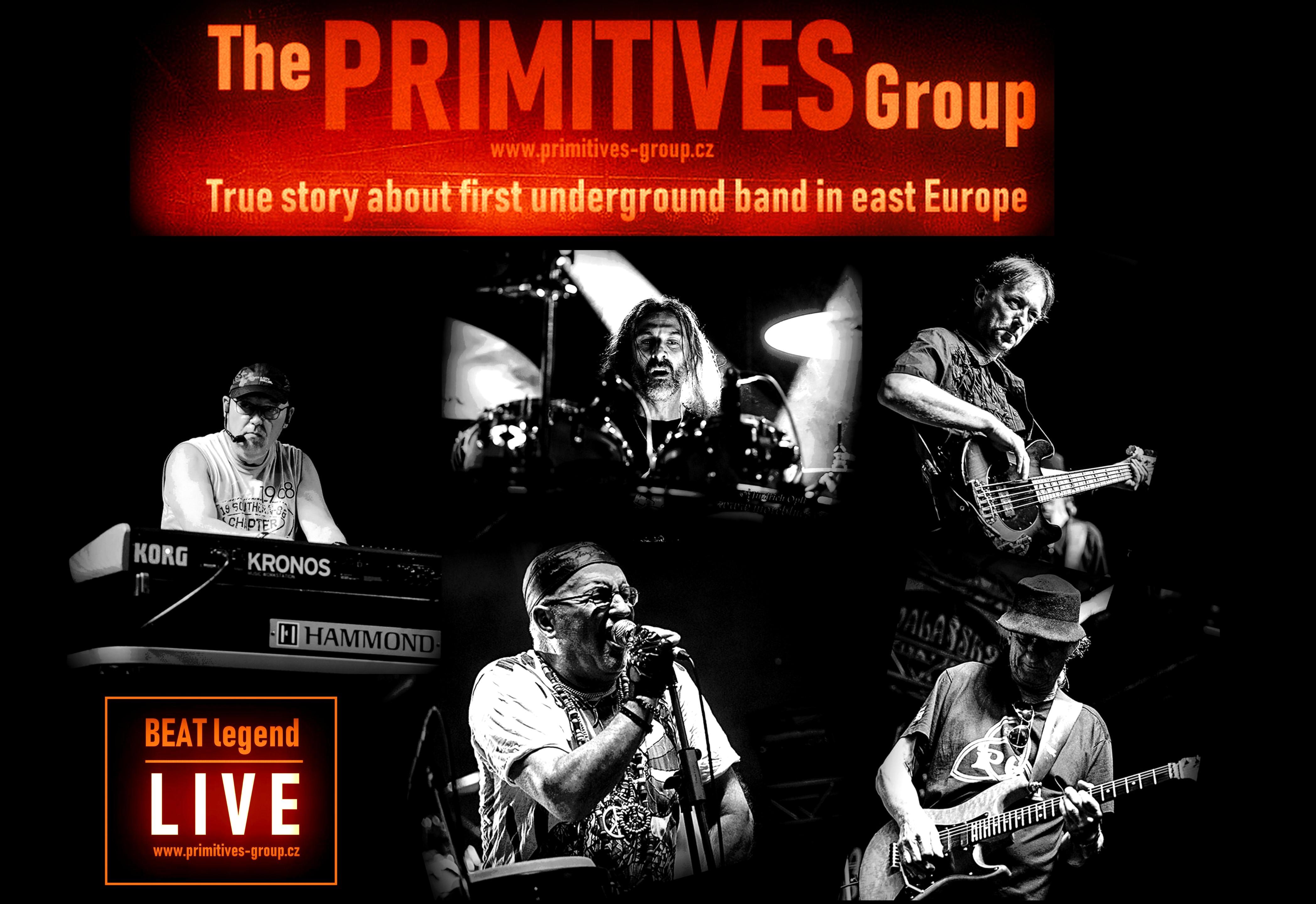 The PRIMITIVES Group -  60' BEAT Legend is BACK